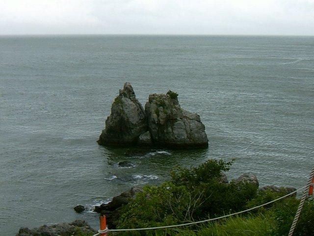 가덕도 새바지 돌섬
