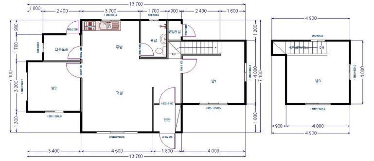 전원주택을 만드는사람들  광주 주택설계도면 안 - Daum 카페