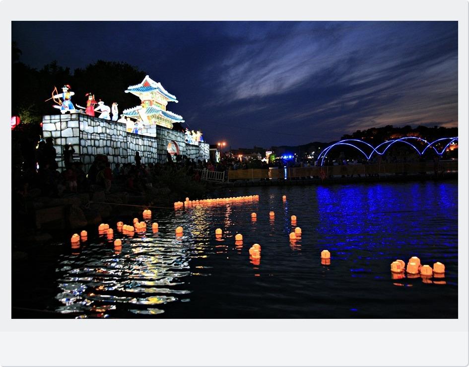 """2011"""" 진주남강유등축제"""