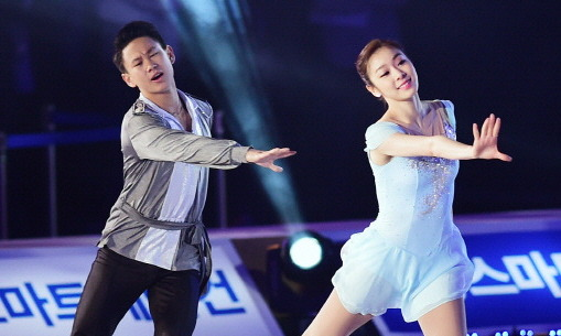 Kazakhstan's Denis Ten teams up with Yuna Kim's All That Sports