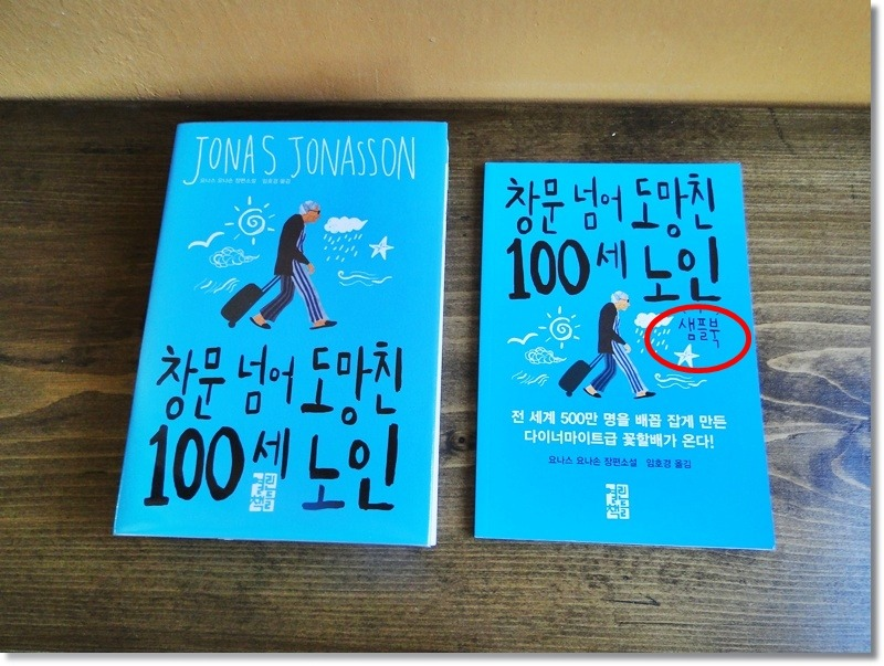 창문 넘어 도망친 100 세 노인 책