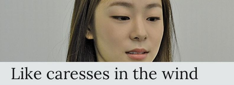 Yuna Kim interview published in the L'Osservatore Romano, daily newspaper of Vatican City State