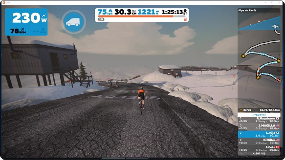 tour de zwift - stage 6 사진 캡쳐.!