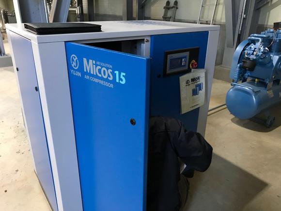 소형스크류콤프레샤-유진20마력(Micos 15D) 시운전