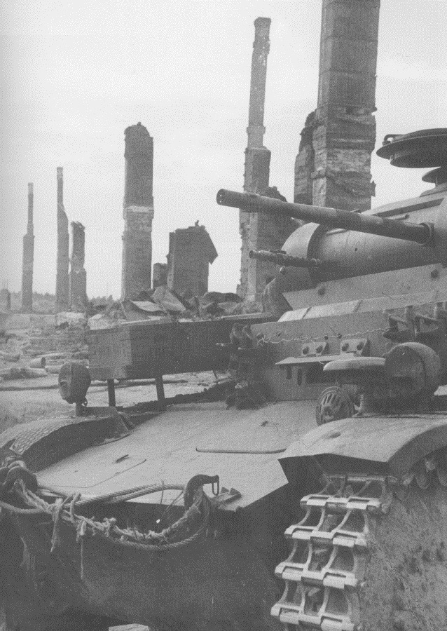 카렐리야 전선 핀란드군의 독일 2호 전차 - Finnish Army Panzer 2 Tank in the Karjalan region Kiestinki