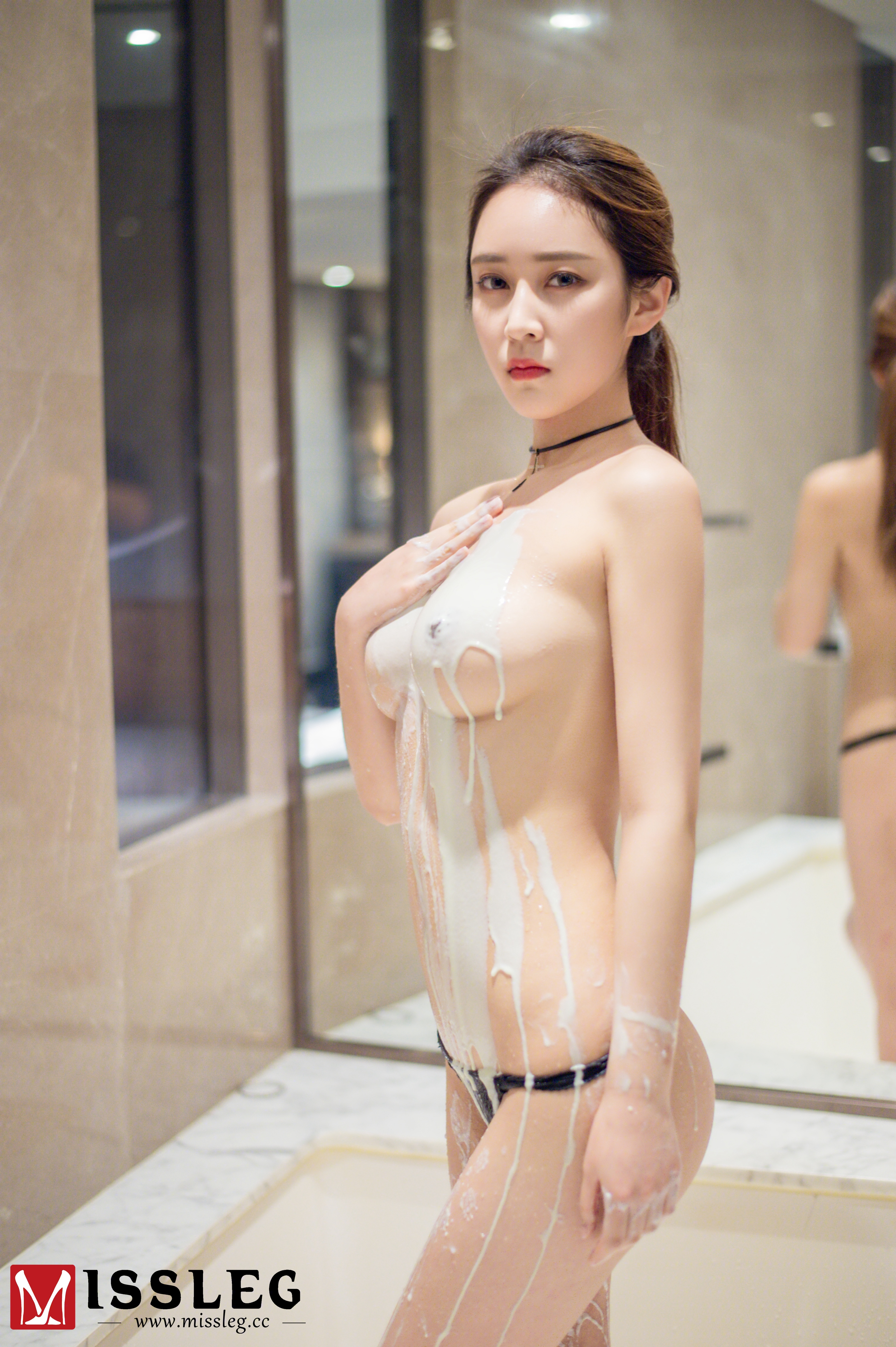 hot Chinese women in carnal posture